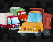 Мультяшные грузовики: игра-головоломка