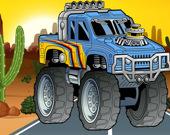 Головоломка Сумасшедший монстр-грузовик