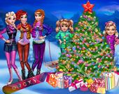 Рождественская ель принцесс