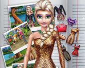 Редактор куклы: Ледяная принцесса