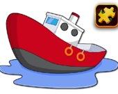 Мультяшный корабль: головоломка