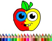 Книжка-раскраска: Яблоки