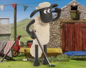 Гольф с овечкой Шоном