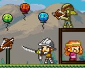 Пиксельный лучник - Спаси принцессу