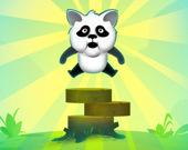 Панда и блоки