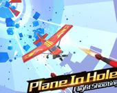 Самолет в трубе 3D