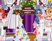 Белоснежная рождественская вечеринка