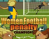 Женщины - чемпионы по футболу: Пенальти