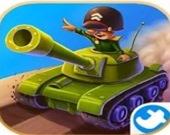 Защитник в танке