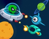 Космический стрелок в зомби