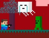 Приключения Стива: подземный Майнкрафт