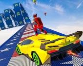 Автотрюки на Мегарампе: GT автогонки 2021