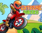 Велосипедисты экстремалы