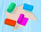 Цветные руллоны 3D