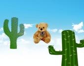Кактусы и медвежонок