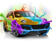 Раскрась автомобиль 3D
