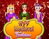 Лучшие подруги навсегда: средневековая мода и макияж
