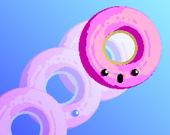 Катящийся пончик