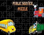 Пазл: Городские службы