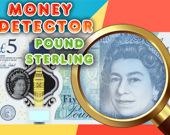 Детектор денег: Фунт стерлингов