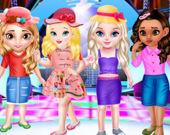 Модный конкурс маленьких принцесс