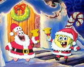 Губка Боб - Рождественский Пазл