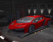 Яростная парковка 3D: Ночной вор