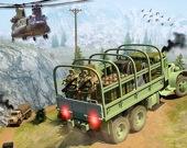 Водитель армейских грузовиков