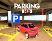 Парковка современного автомобиля HD