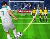 Футбольная битва: удар пенальти