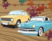 Пазл: Классические автомобили