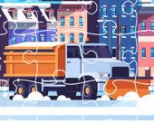 Пазл: Снегоуборщики