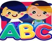 Детская головоломка - учим алфавит