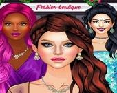 Модный шопинг - Одежда и макияж