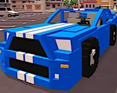 Кубические авто на шоссе