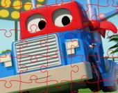 Пазл: Супер грузовик