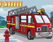 Пожарная Машина: игра-пазл