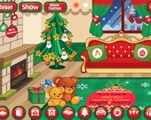 Украсьте рождественскую комнату