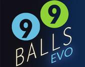 Эволюция 99 шаров