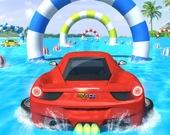 Водные трюки на машинах