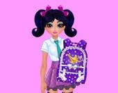 Жасмин и Эльза - дизайн рюкзаков