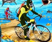 Велогонка под водой