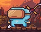 Пиксельный ниндзя-защитник