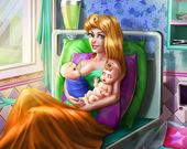 Сонная принцесса: Рождение близнецов