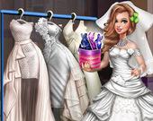 Сери: Свадебная одевалка