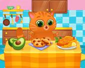 Милый виртуальный кот