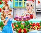 Приготовь рождественские пирожные