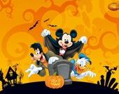 Дисней  в Хэллоуин - Пазл