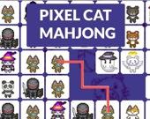 Маджонг: пиксельные котики