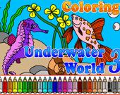 Раскраска: Подводный мир 3